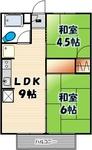 サンホワイトC-108 22号室(間取図).JPG